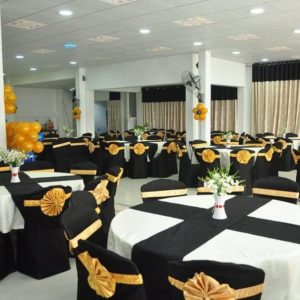 professional decoration at the best banquet hall in chennai