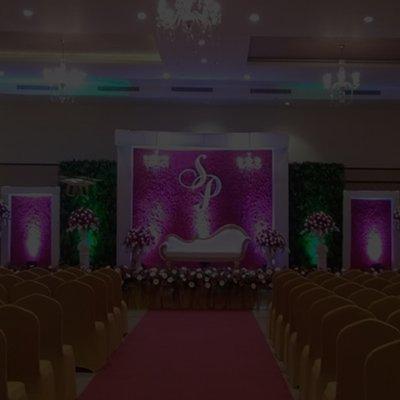 Elegant Wedding Decoration of the best wedding halls in Chennai