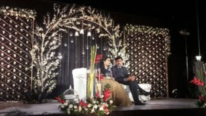 Royal Wedding Stage Decoration - Wedding halls in Chennai
