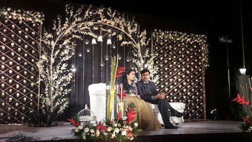 Royal Wedding Stage Decoration - Wedding halls in Chennai
